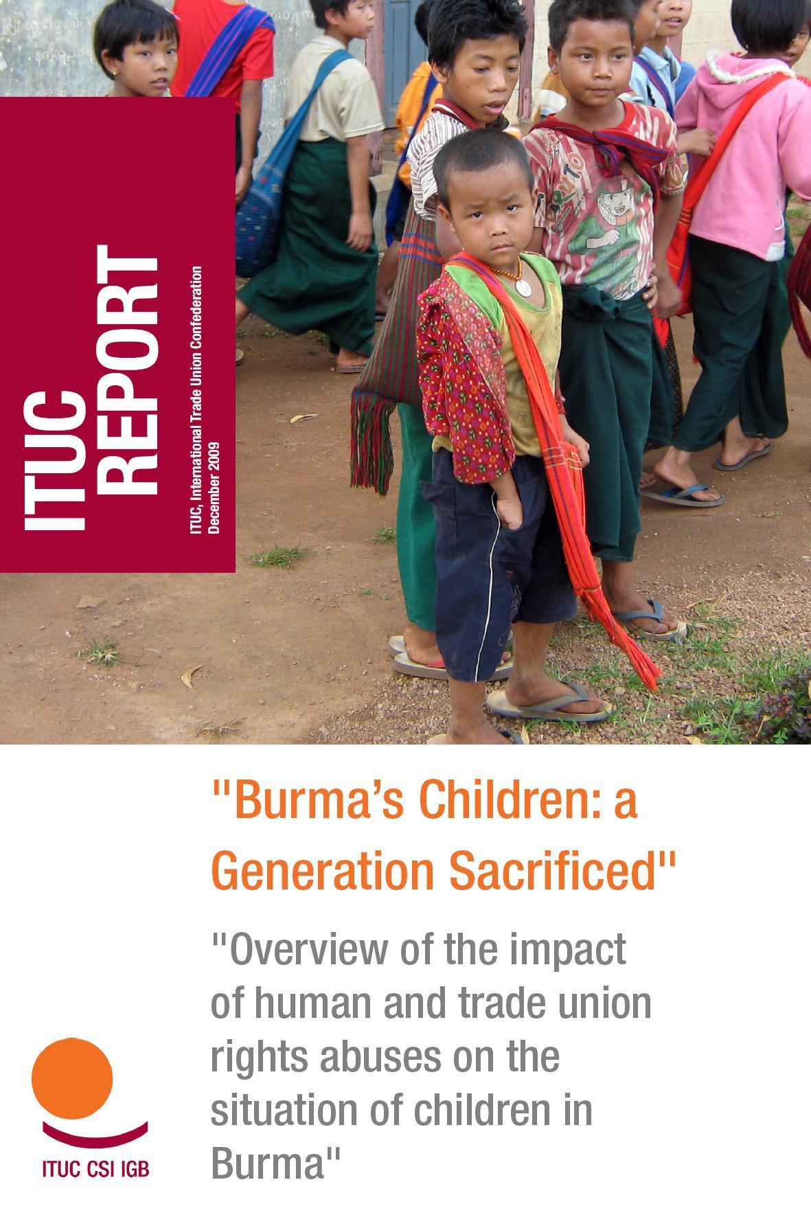 Rapporto ITUC - Dicembre 2009 - Bambinelli